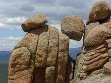 pocięte sztuczne skały
